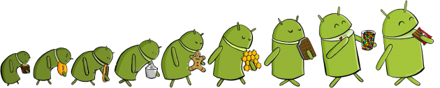 android 5 ans icone logo google anniversaire 0