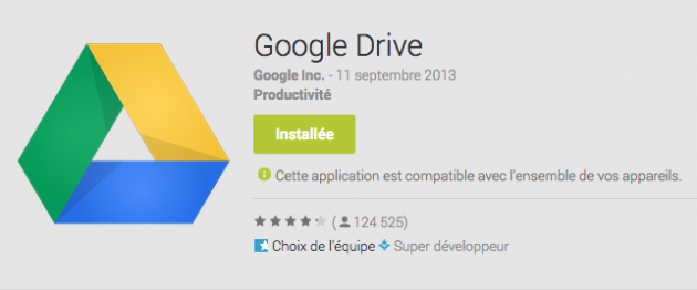 android google drive 1.2.352.9 0