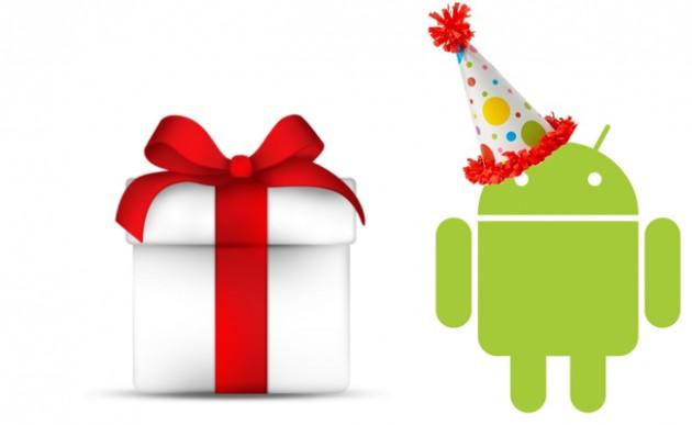 android happy birthday 2013