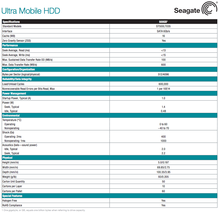 android hdd seagate ultra mobile specs 1