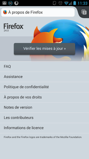 android mozilla firefox 24 build 0