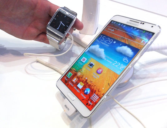 android samsung galaxy gear compatibilité