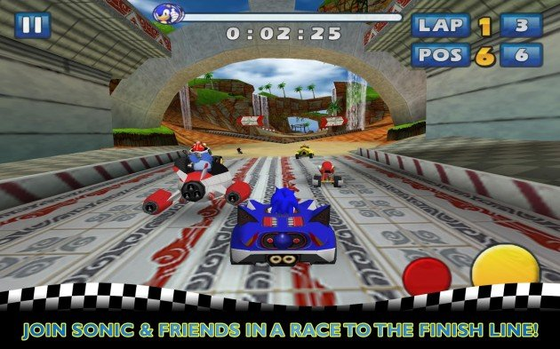 android sonic & sega all-stars racing