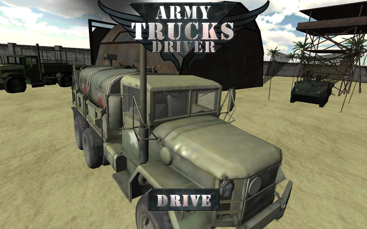 army truck driver une simulation presque r aliste de camion militaire frandroid. Black Bedroom Furniture Sets. Home Design Ideas