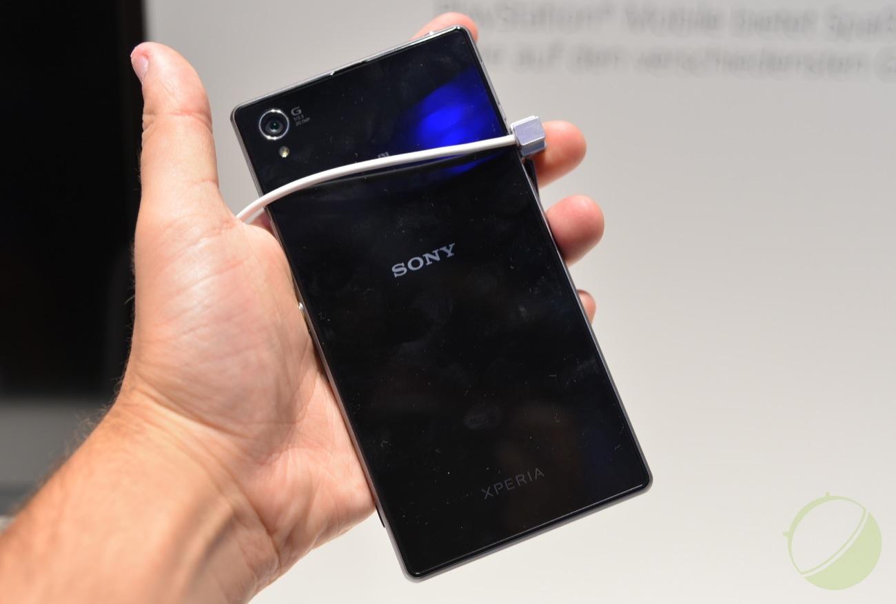 Dos du Sony Xperia Z1
