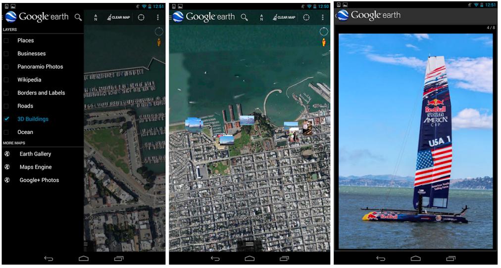 Google Earth permet d'afficher ses photos géolocalisées sur