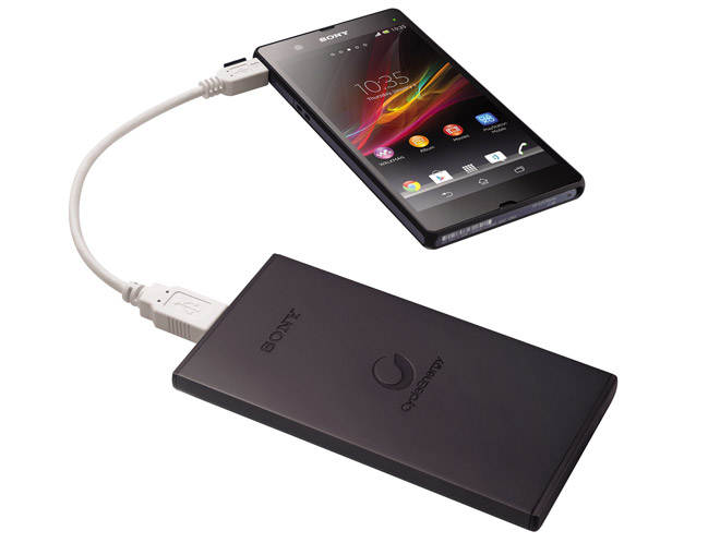 sony pr sente deux batteries externes de 5 000 et 10 000 mah frandroid. Black Bedroom Furniture Sets. Home Design Ideas