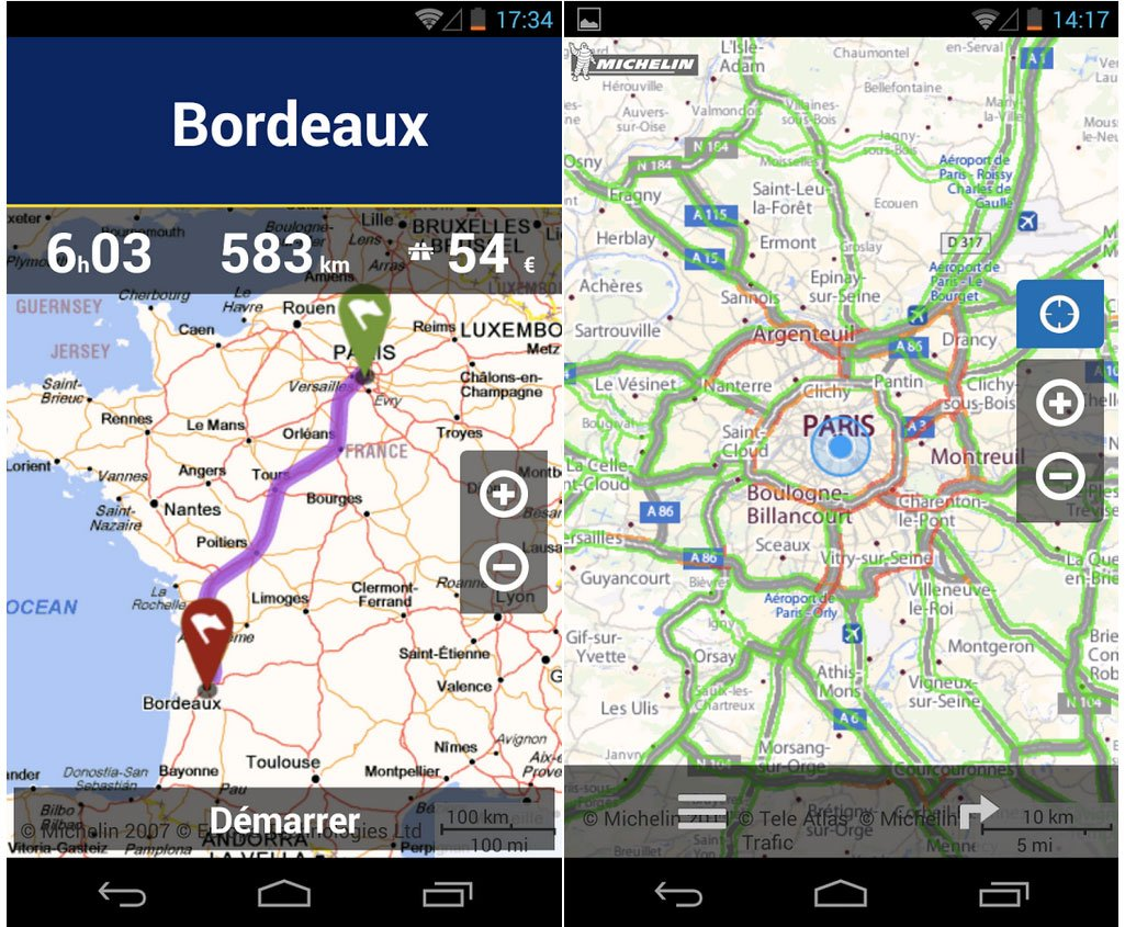 Android rencontre gps