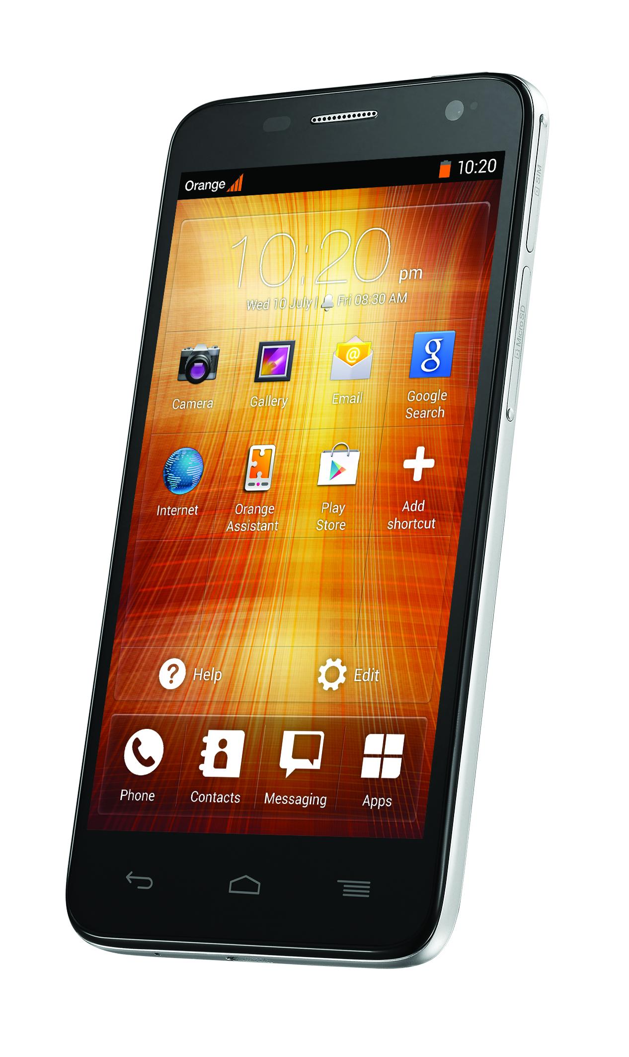 orange hiro et yumo deux nouveaux smartphones sous. Black Bedroom Furniture Sets. Home Design Ideas