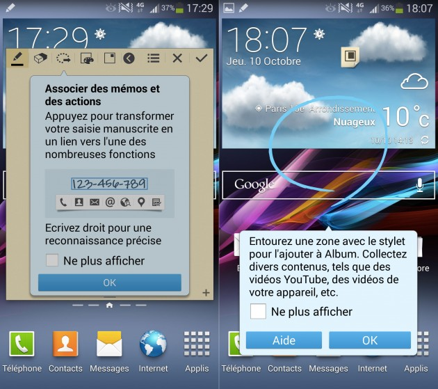 stylets pour smartphone