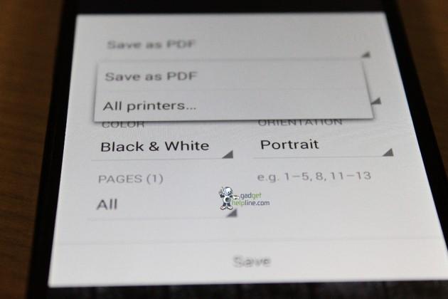 android 4.4 kitkat key lime pie capture d'écran 01