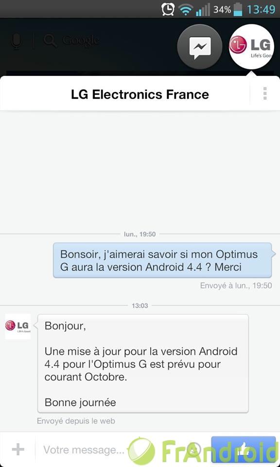 android 4.4 kitkat lg optimus g image 0