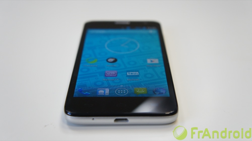 android alcatel one touch mini idol angle de vision image 1