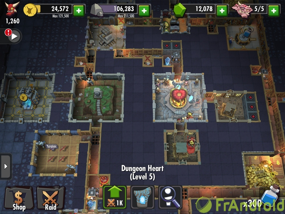 android ios dungeon keeper image 1