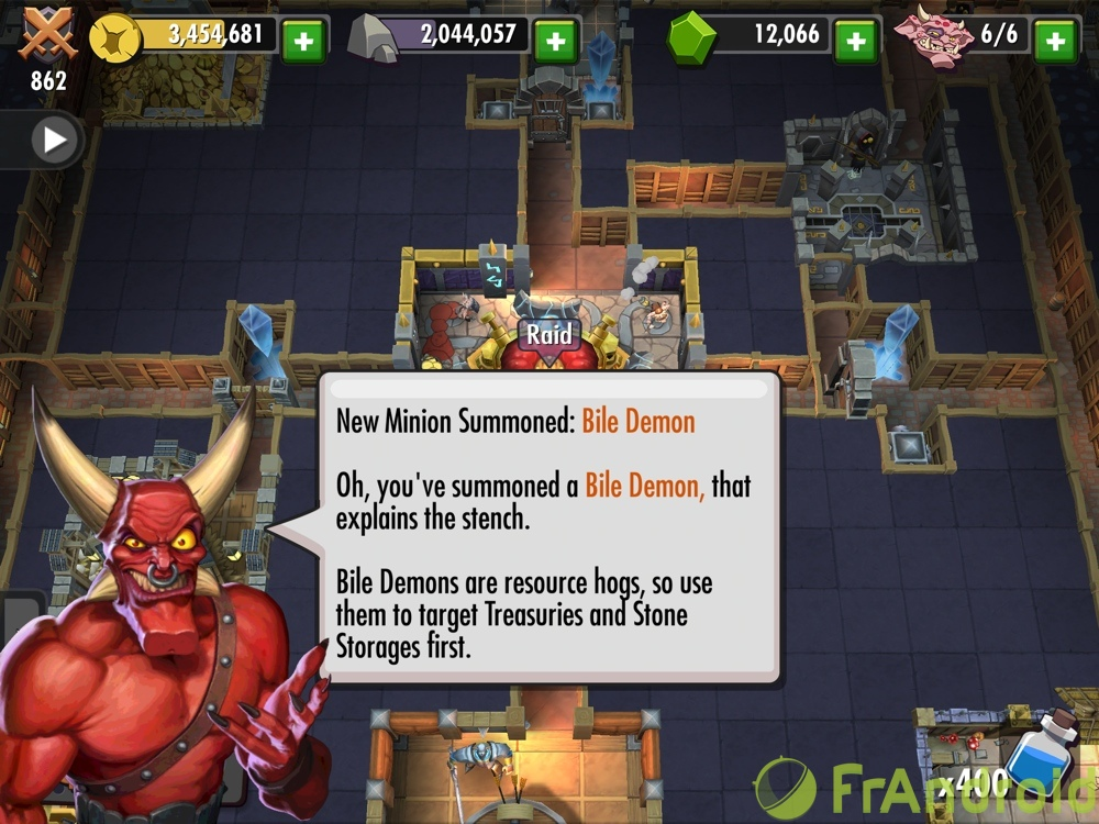 android ios dungeon keeper image 2