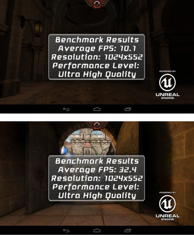 android lenovo ideatab a1000 vs a3000 benchmark epic citadel ultra high quality 01