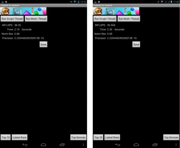 android lenovo ideatab a1000 vs a3000 benchmark linpack single thread 01