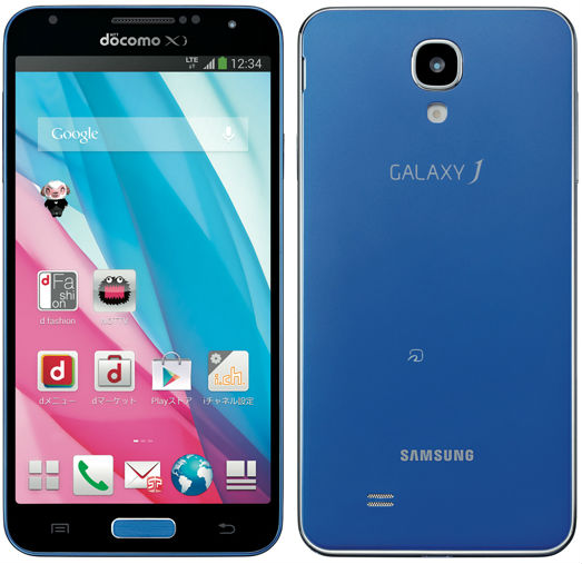 android samsung galaxy j for japon blue