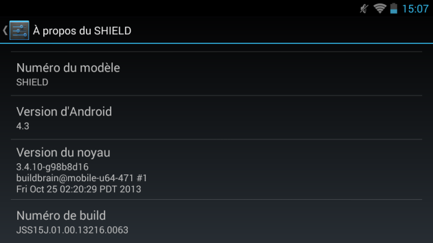 android 4.3 jelly bean mise à jour nvidia shield 01