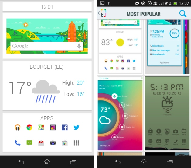 capture d'écran screenshot android themer beta image 01