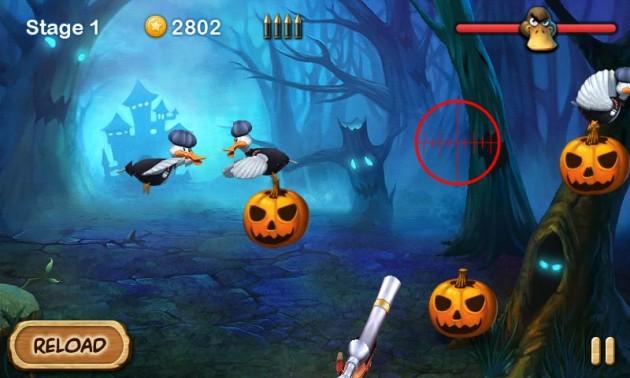 Duck vs Pumpkins