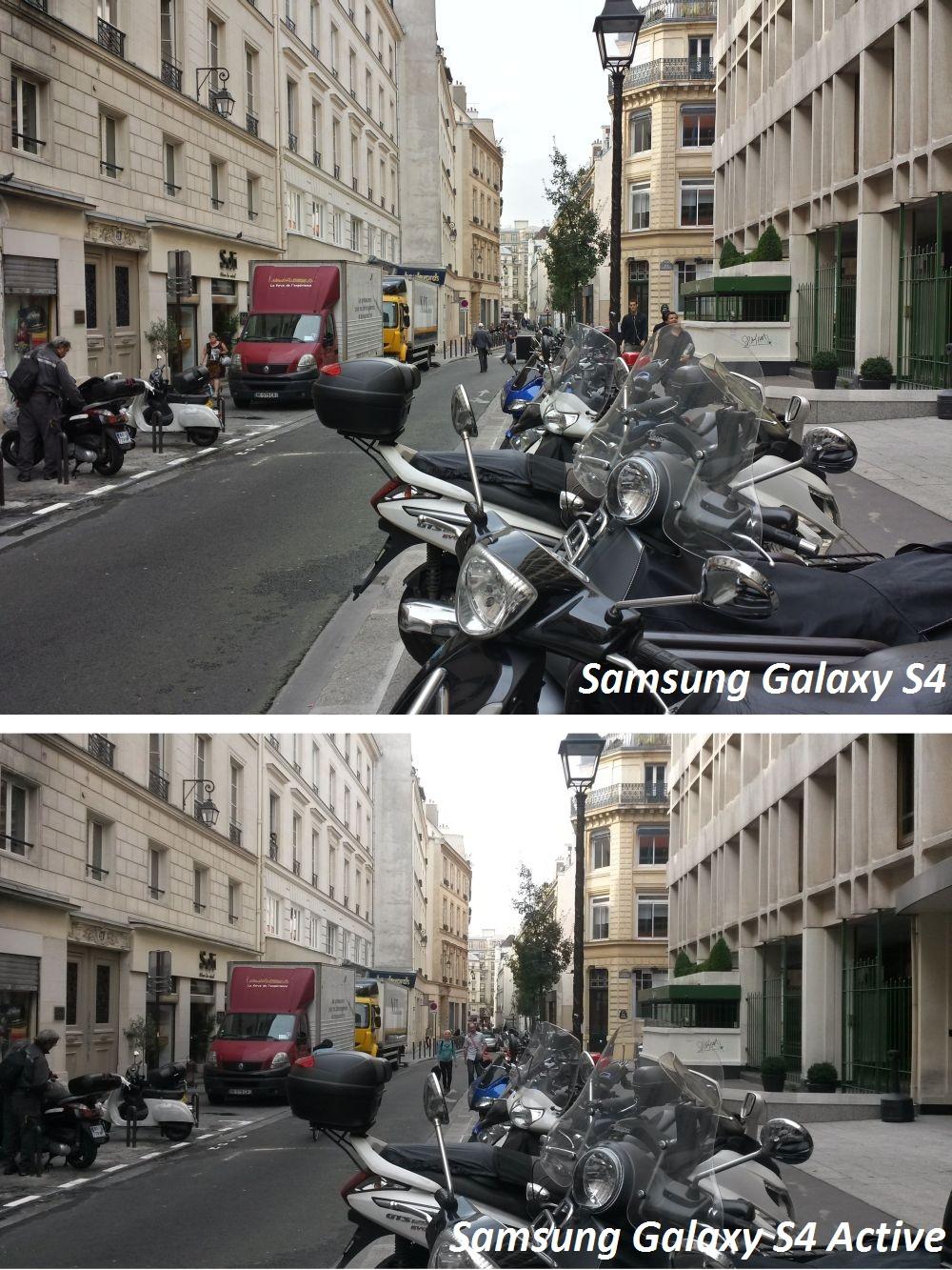 extrait android samsung galaxy s4 vs samsun galaxy s4 active test photos #1