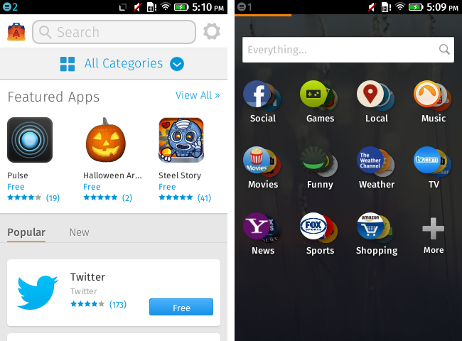 firefox os zte open logiciel interface images 8