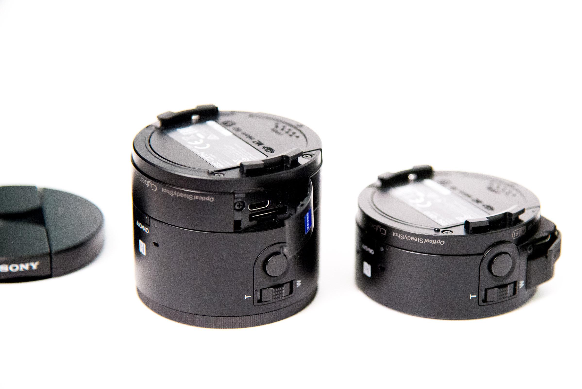 Test des Sony Cyber-shot QX10 et QX100, pratiques ou superflus ?