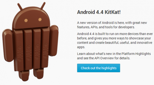 Android 44 checkout highlights