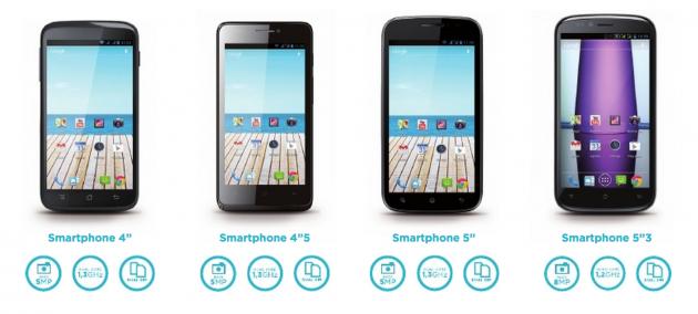 Smartphones Qilive