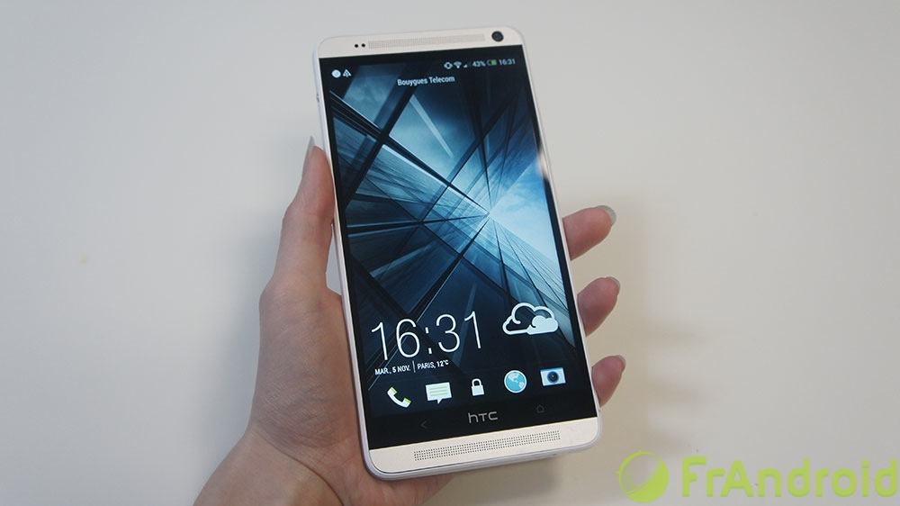 test du htc one max quand htc voit grand frandroid. Black Bedroom Furniture Sets. Home Design Ideas