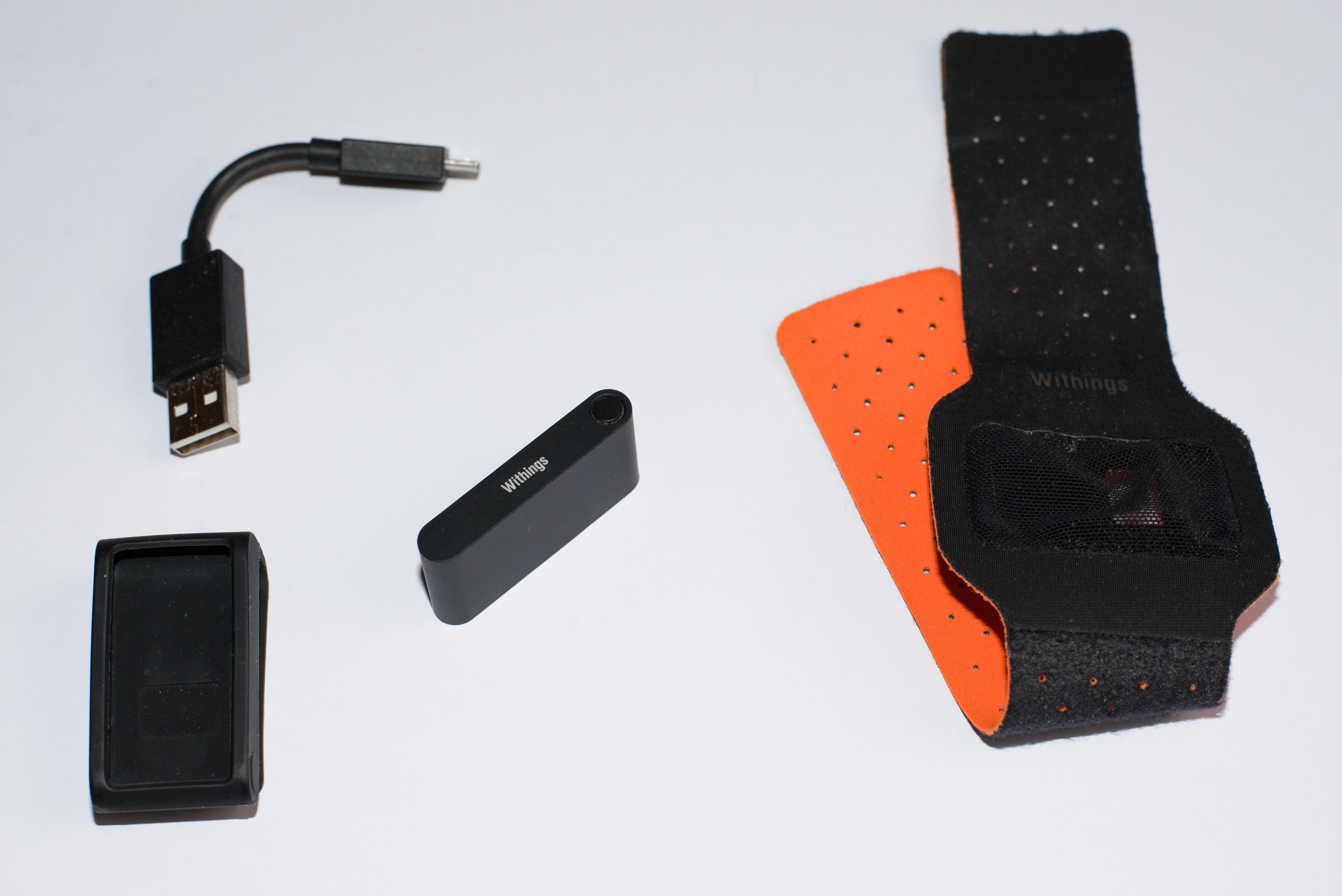 Contenu de la boîte  un clip, un câble chargeur USB, un bracelet nuit