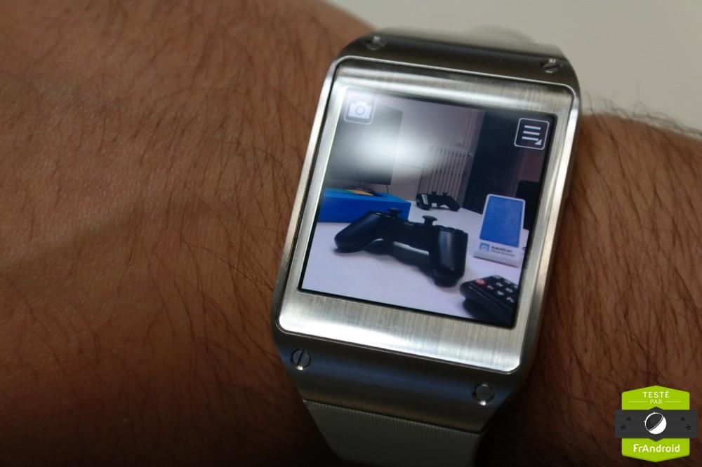 En 2013, Samsung tentait déjà d'intégrer une caméra dans sa montre