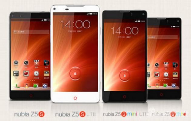 ZTE Nubia Z5S