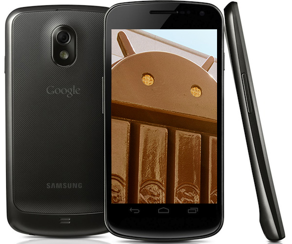 une p tition d 39 android 4 4 kitkat pour le galaxy nexus. Black Bedroom Furniture Sets. Home Design Ideas