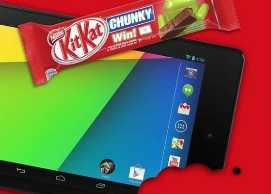 android 4.4 kitkat mise à jour update google nexus 7 2012 3g nexus 7 2013 4g lte