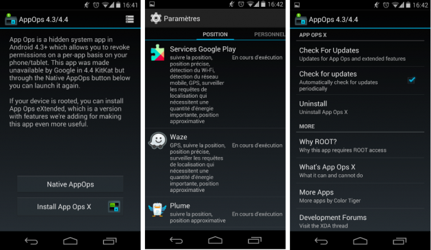 android app ops 4.3 : 4.4 kitkat play store images 0
