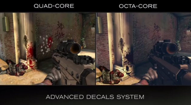 android gameloft mediatek mt6592 octa-coeur versus quad-coeur modern combat 5 image 0