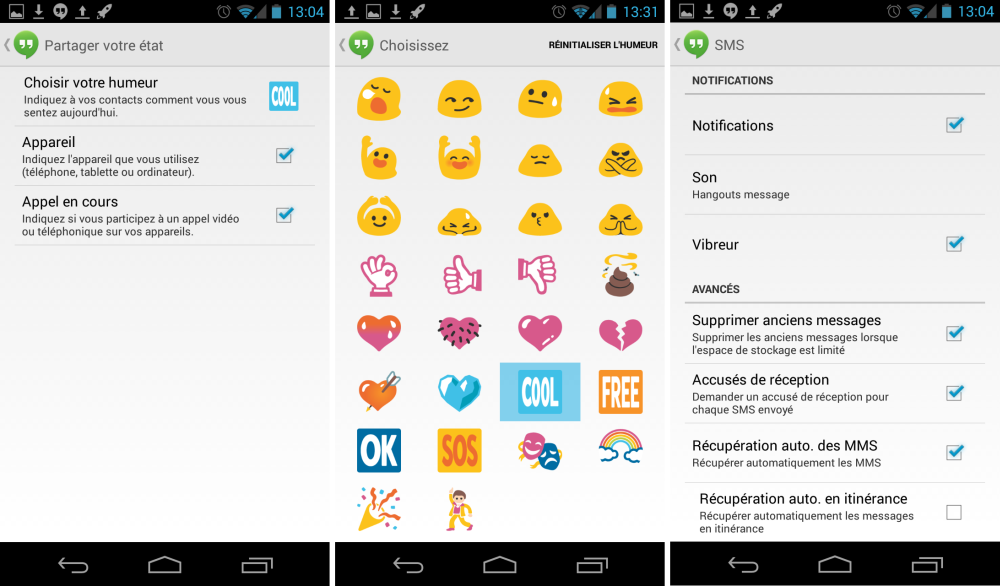 android google hangouts 2.0.122