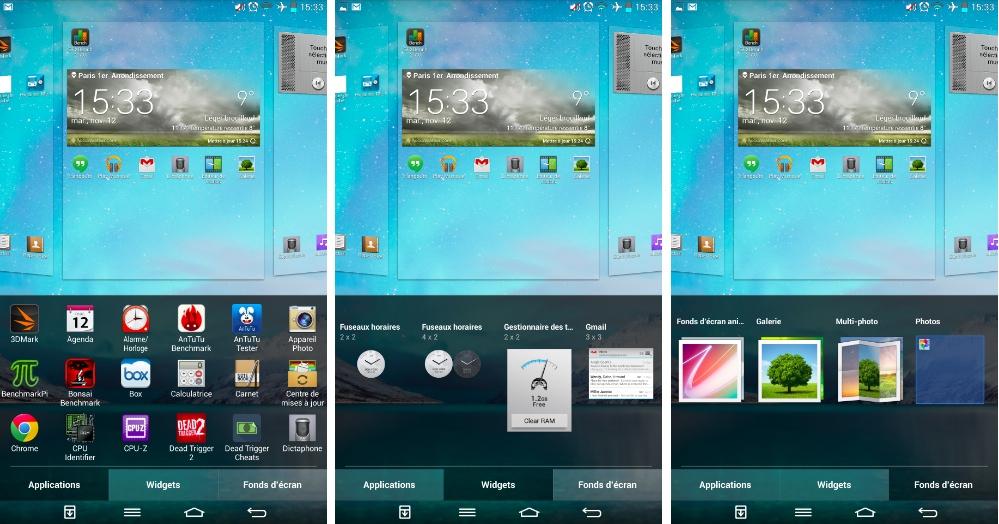 android lg g pad 8.3 écran d'accueil widgets fond d écran wallpaper