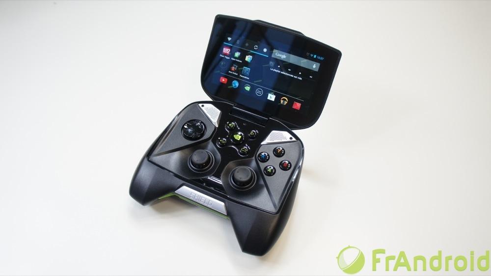 test de la nvidia shield la console de jeux de la firme. Black Bedroom Furniture Sets. Home Design Ideas