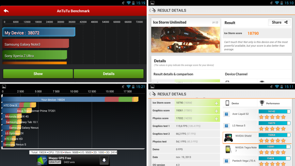 android nvidia shield (project shield) antutu quadrant 3dmark images 1