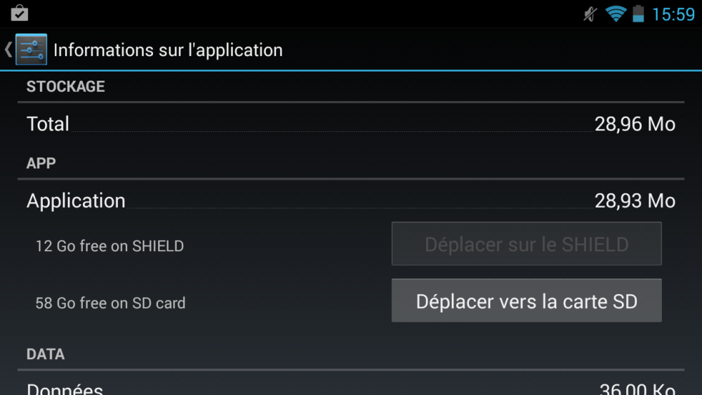 android nvidia shield (project shield) app2sd applications carte sd images 1