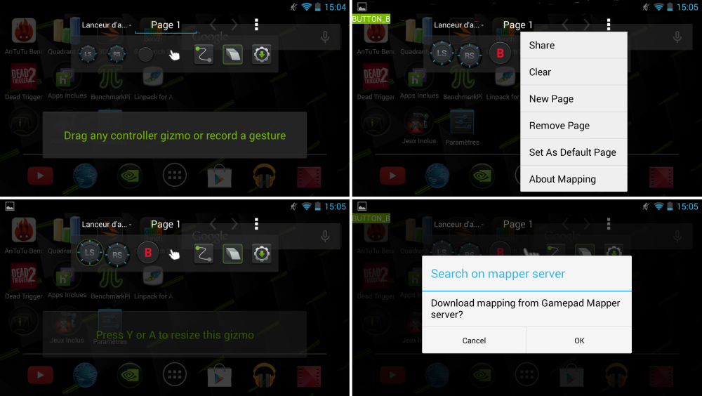 android nvidia shield (project shield) gamepad mapper images 1