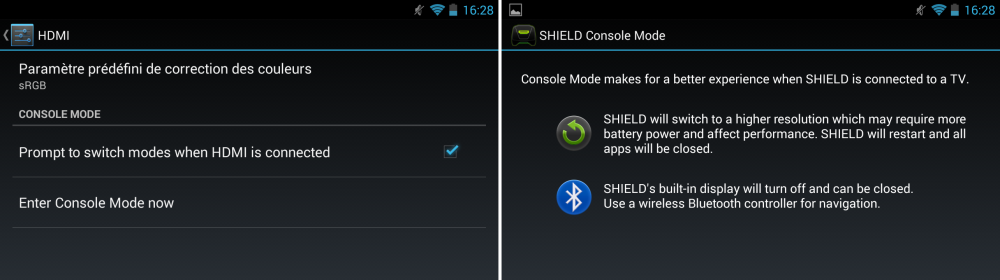 android nvidia shield (project shield) hdmi console mode images 1