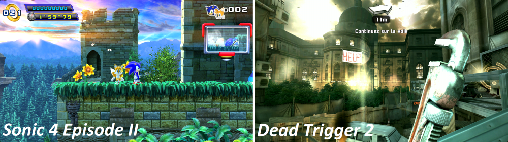 android nvidia shield (project shield) sonic 4 episode ii dead trigger 2 images 1
