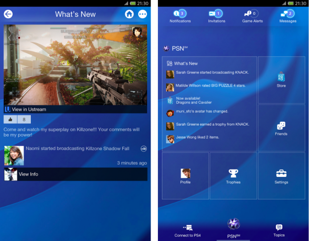 android playstation app 1.50.1 screenshots 01