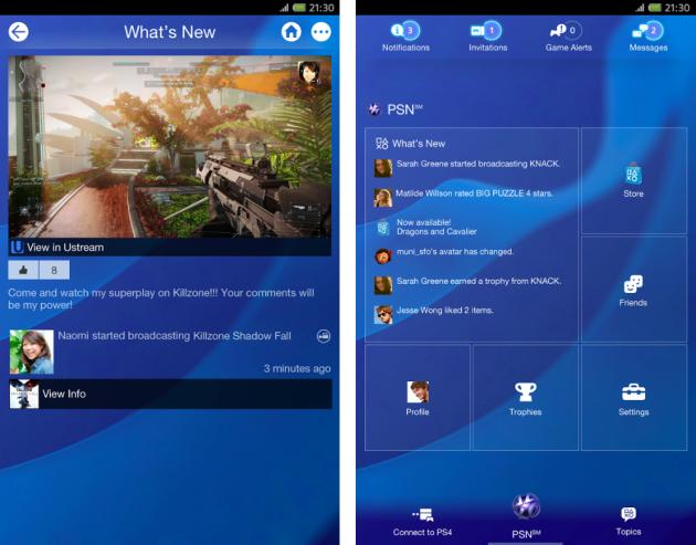 android playstation app 1.50.1 screenshots 01