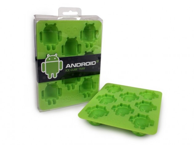Moule à glaçons Android