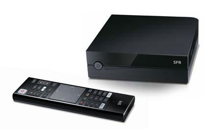 les d tails sur la google tv de sfr. Black Bedroom Furniture Sets. Home Design Ideas